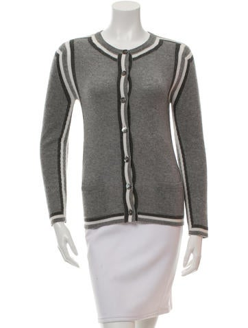 Thom Browne Cashmere Button-Up Cardigan None