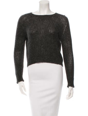The Row Rib Knit Sweater None