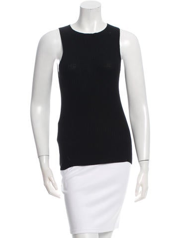 The Row Sleeveless Knit Top None