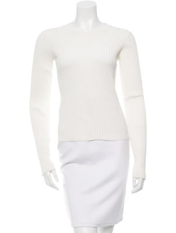 The Row Long Sleeve Rib Knit Top w/ Tags None