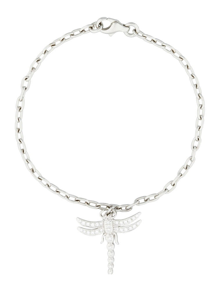 Tiffany & Co. Diamond Dragonfly Bracelet
