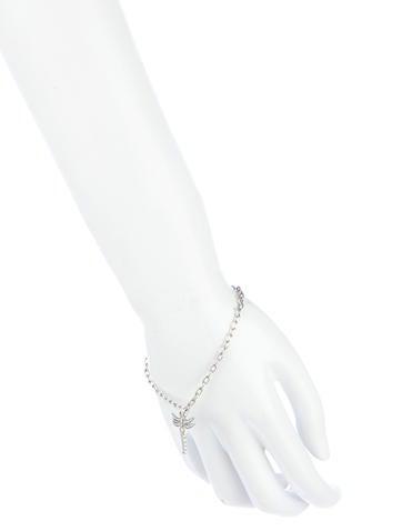 Diamond Dragonfly Bracelet