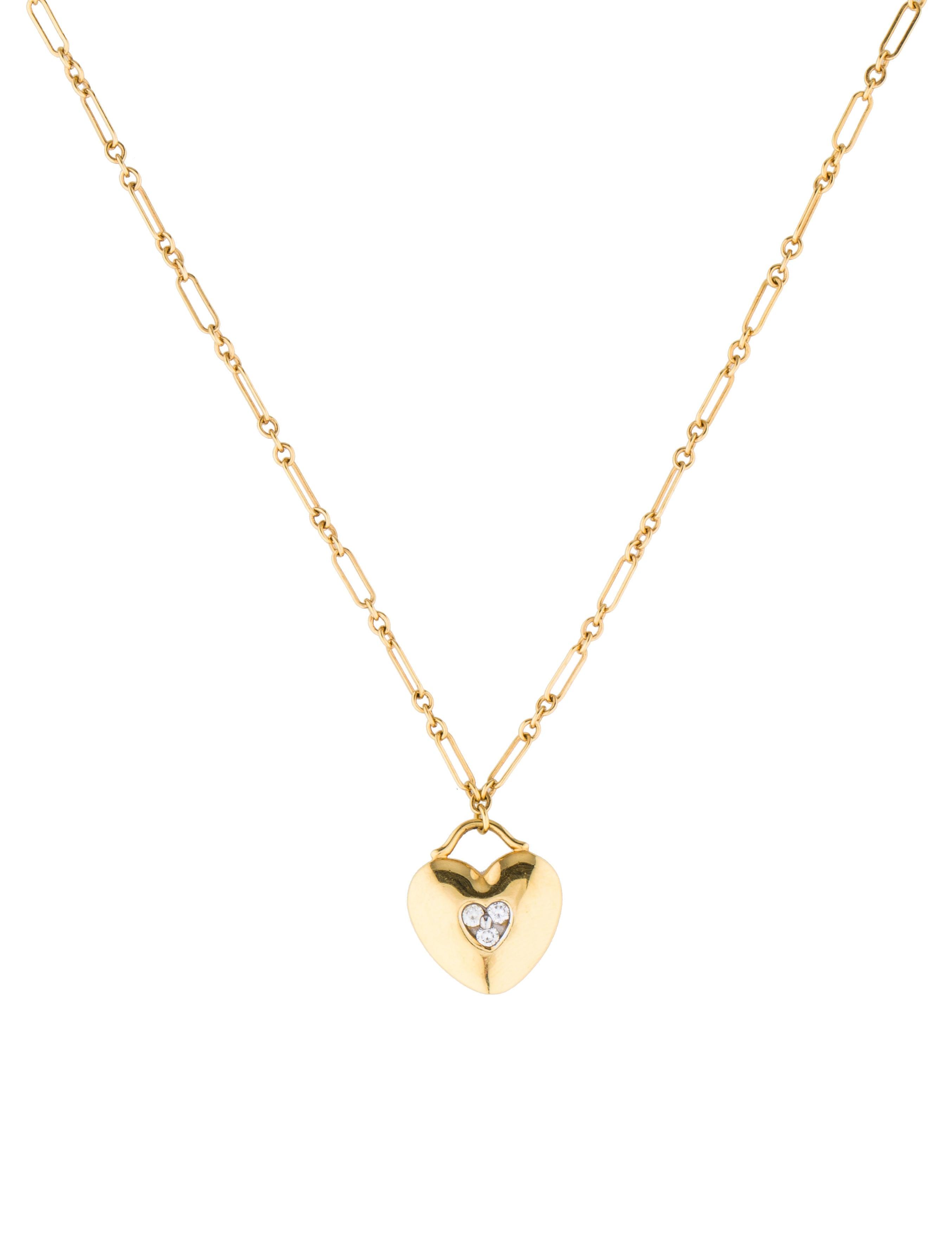 tiffany amp co diamond heart necklace necklaces