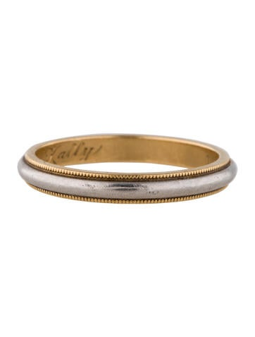 Tiffany Amp Co Milgrain Wedding Band Ring