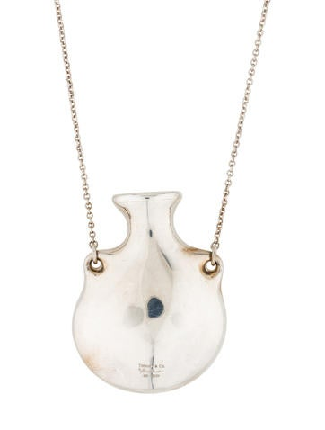 Tiffany & Co. Open Bottle Pendant Necklace