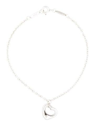 Tiffany & Co. Open Heart Bracelet