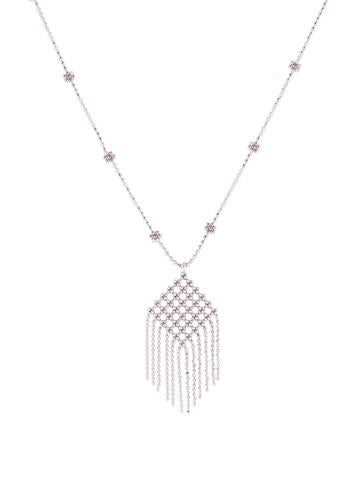 Tiffany & Co. Fringe Flower Bead Necklace