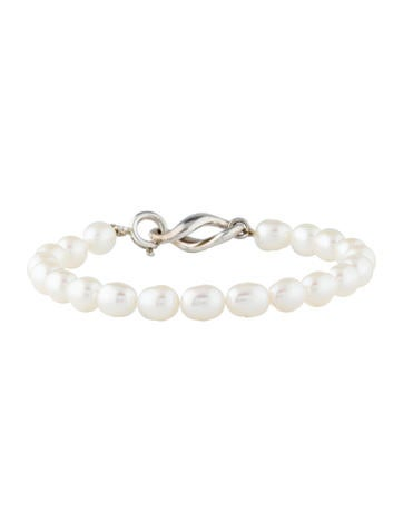 Tiffany & Co. Infinity Pearl Bracelet