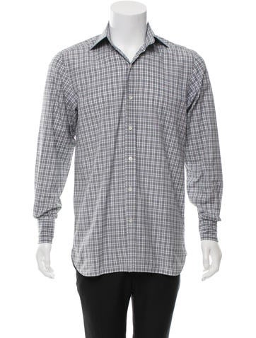 Tom Ford Long Sleeve Button-Up Shirt
