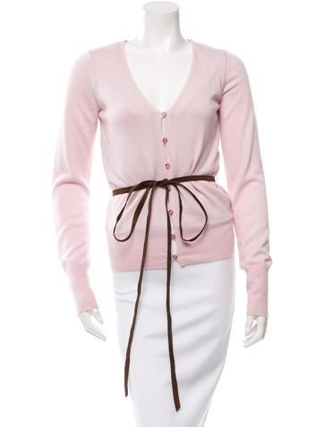 Tuleh Silk Button-Up Cardigan None