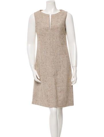 Valentino Sleeveless A-Line Dress None