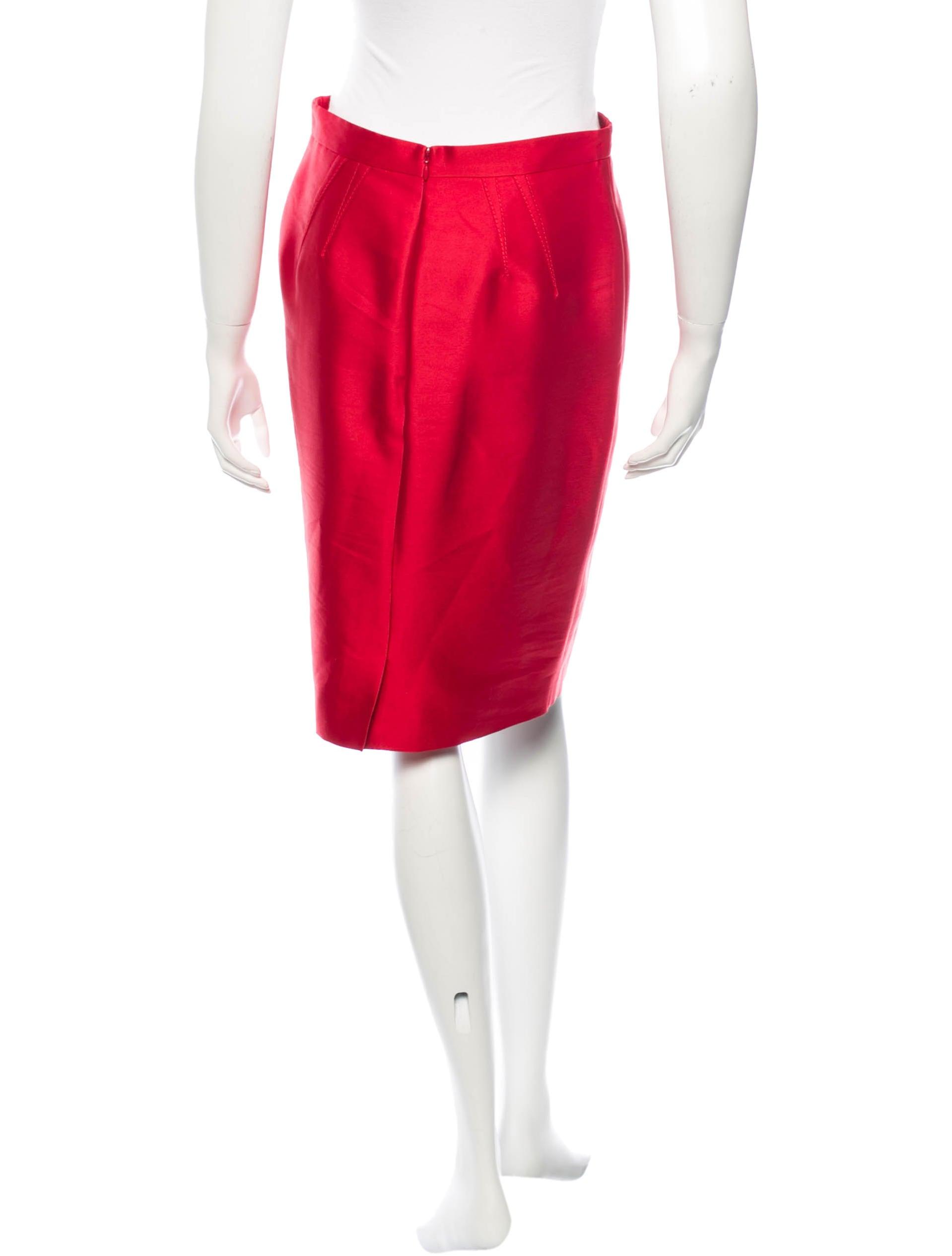Wool Blend Skirt 32