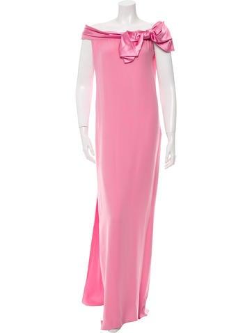 Valentino Off-The-Shoulder Maxi Dress w/ Tags None