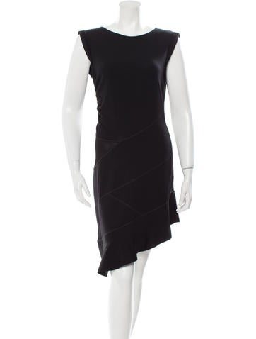 Valentino Knit Asymmetrical Dress w/ Tags None