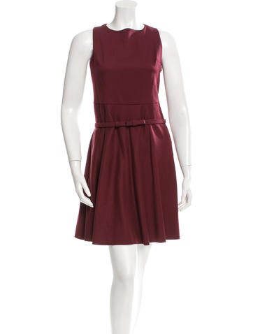 Valentino Sleeveless A-Line Mini Dress None