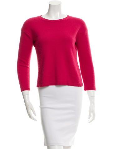 Valentino Knit Scoop Neck Sweater None