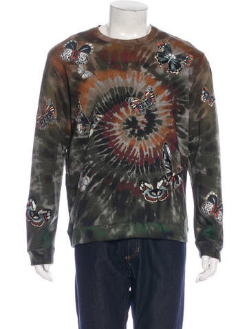 Valentino Tie&Dye Butterfly Sweatshirt w/ Tags None