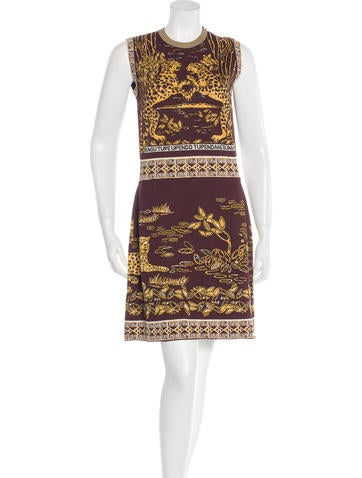 Valentino 2016 Knit Jacquard Dress w/ Tags None