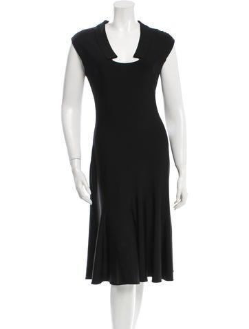 Valentino A-Line Midi Dress None