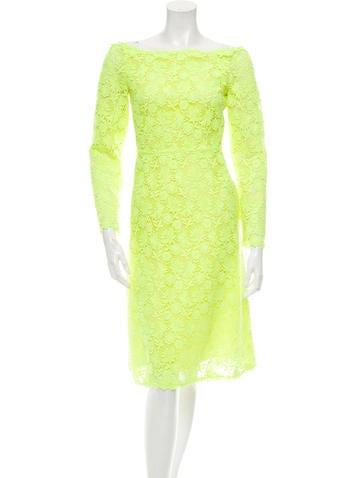 Valentino Lace Midi Dress w/ Tags None