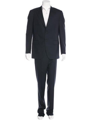 Valentino Virgin Wool Two-Piece Suit None