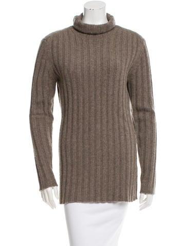 Vanessa Bruno Rib Knit Turtleneck Sweater None