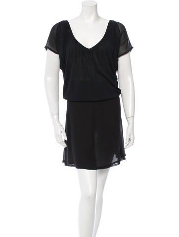Vanessa Bruno Knit Cap Sleeve Dress None