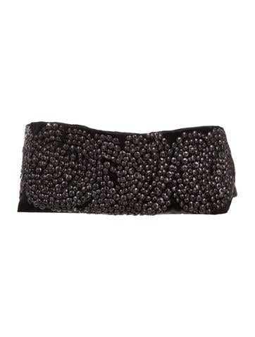 Vera Wang Embellished Waist Belt None