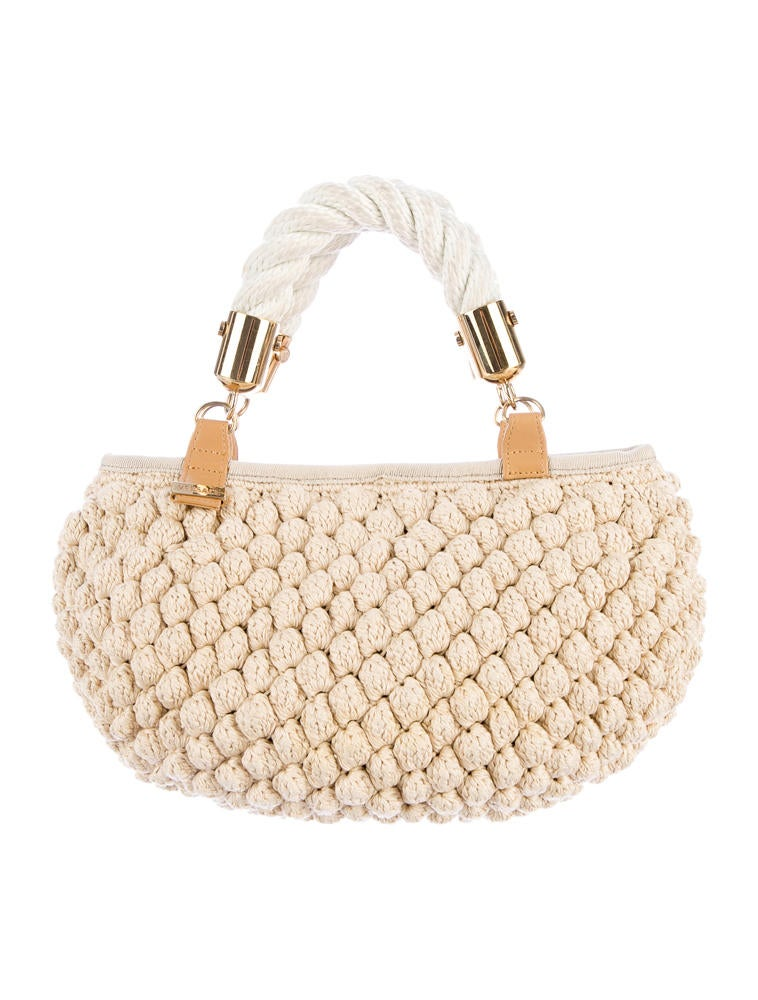 Versace Crochet Handle Bag - Handbags - VES20743 The RealReal