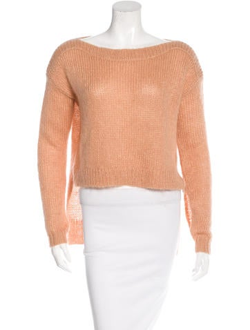 VPL Mohair High-Low Sweater None