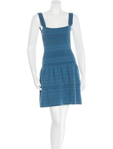 Maje Rib Knit Sleeveless Dress w/ Tags None