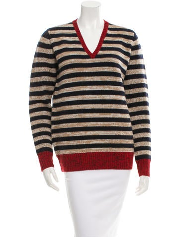 Trademark Striped Wool Sweater w/ Tags None