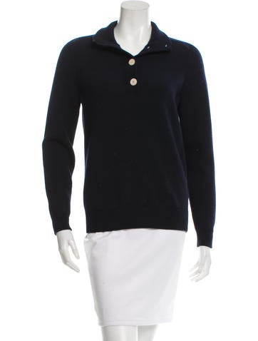 Trademark Wool Button-Up Sweater None