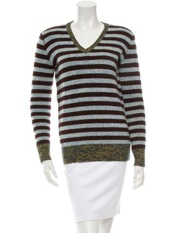 Trademark Striped Wool Sweater None