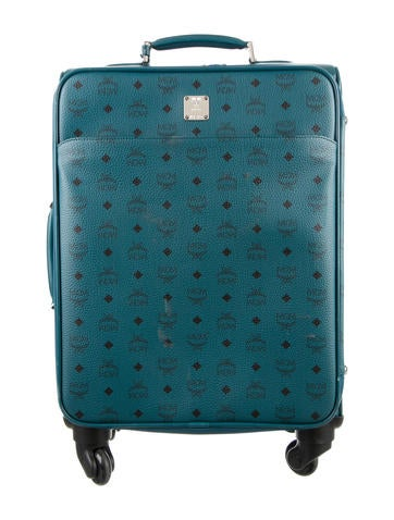 MCM Visetos Trolley Cabin Carry-On None