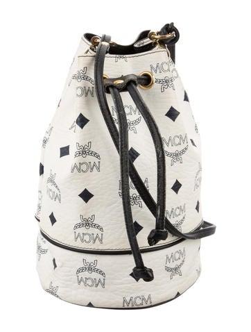 MCM Visetos Bucket Bag None