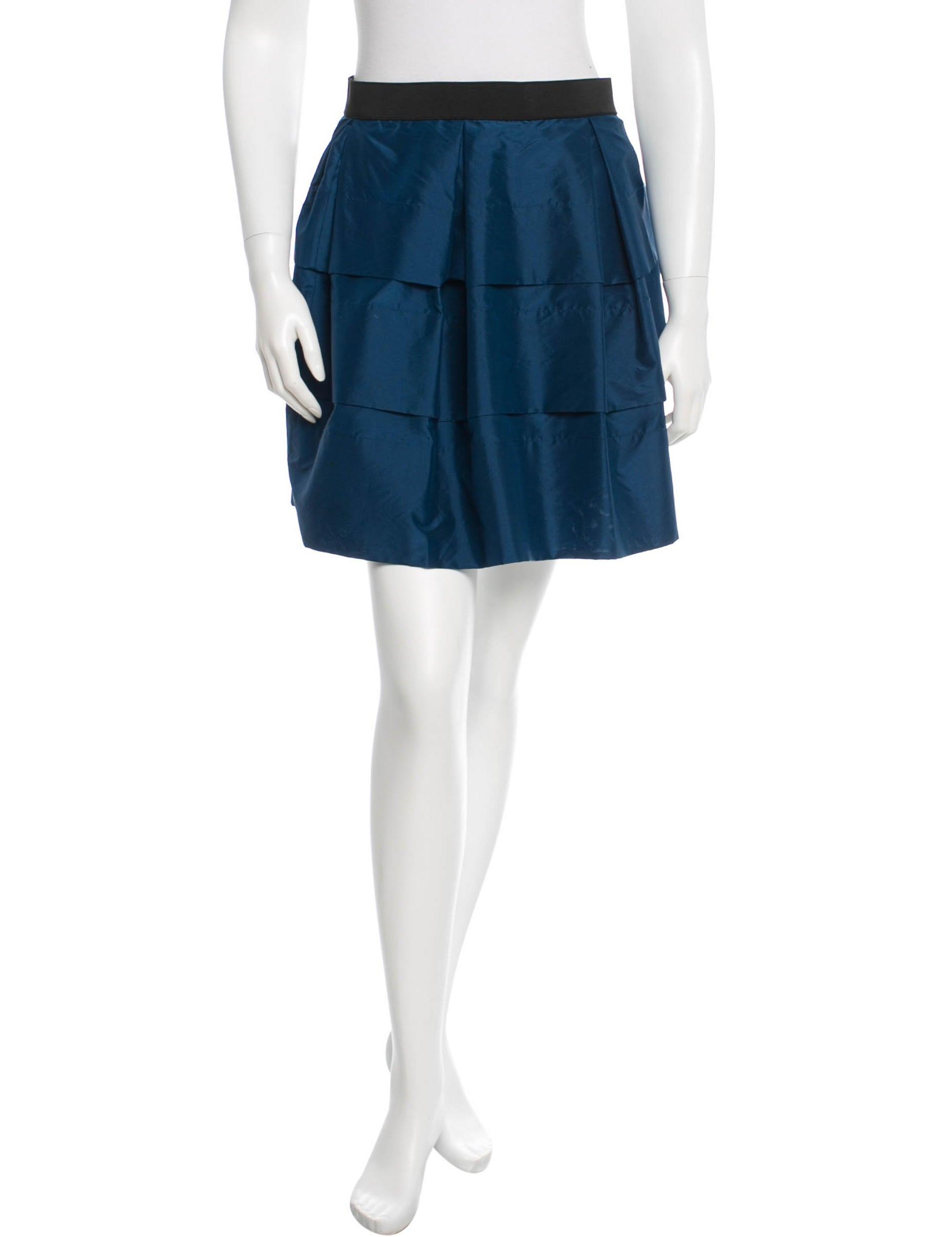 3 1 phillip lim silk a line skirt clothing w31ph31786
