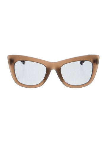3.1 Phillip Lim Cat 2 Oversize Sunglasses