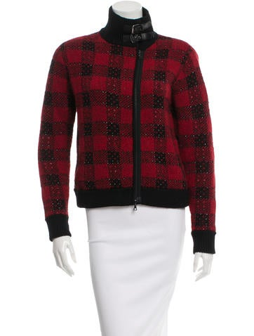 3.1 Phillip Lim Wool Knit Jacket None