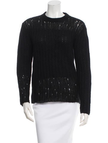 3.1 Phillip Lim Crew Neck Knit Sweater None