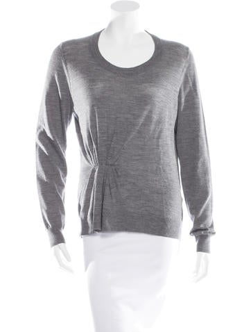 3.1 Phillip Lim Wool Rib Knit Sweater None
