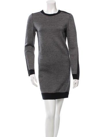 3.1 Phillip Lim Crew Neck Wool Sweaterdress None