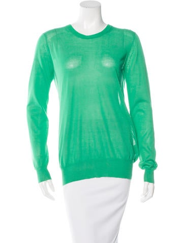 3.1 Phillip Lim Rib Knit Long Sleeve Top None