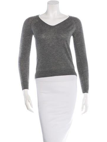 3.1 Phillip Lim Cashmere V-Neck Sweater None
