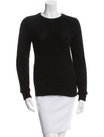 3.1 Phillip Lim Rib Knit Trim Sweater None