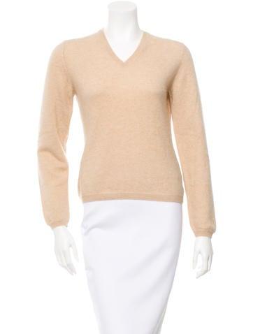 Malo Cashmere V-Neck Sweater None