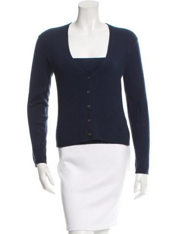 Malo Rib Knit Cashmere Sweater None
