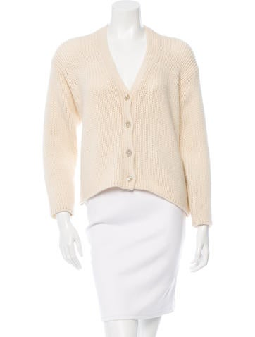 Malo Cashmere V-Neck Cardigan None