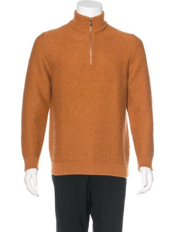 Malo Cashmere Rib Knit Sweater None