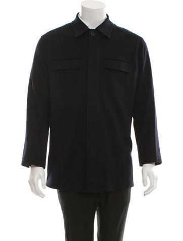 Malo Cashmere Shirt Jacket None